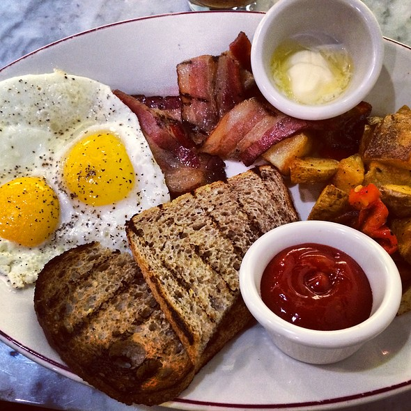 2 Eggs With Bacon - Hill and Bay, New York, NY