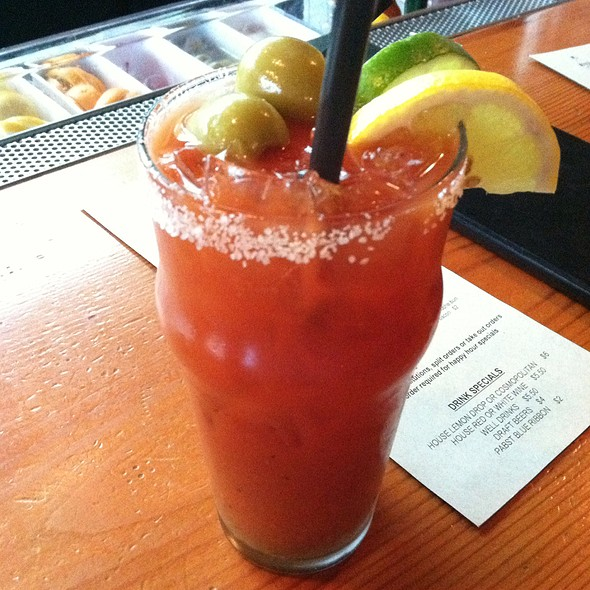 Bloody Mary - Restaurant Five-0-Three, West Linn, OR
