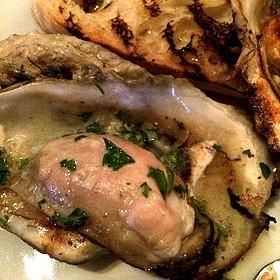 Chargrilled Oysters - Pamplona Tapas Bar and Restaurant, Lafayette, LA