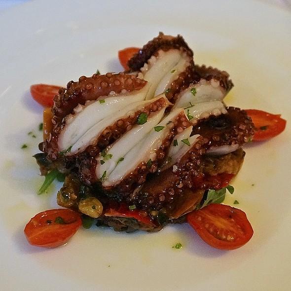 Polipo alla griglia con caponata alla Siciliana, tendereized Spanish octopus - Pelago, Chicago, IL
