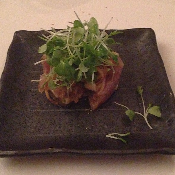 Tuna Tartare - Corduroy, Washington, DC