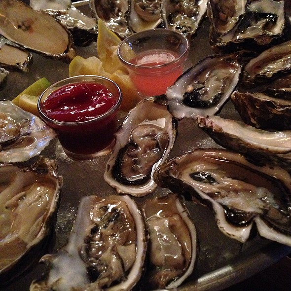 Blue Point Oysters - Eats, New York, NY