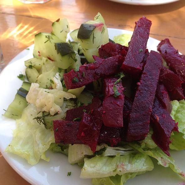 Cucumber and Beet Salad - Speisekammer, Alameda, CA