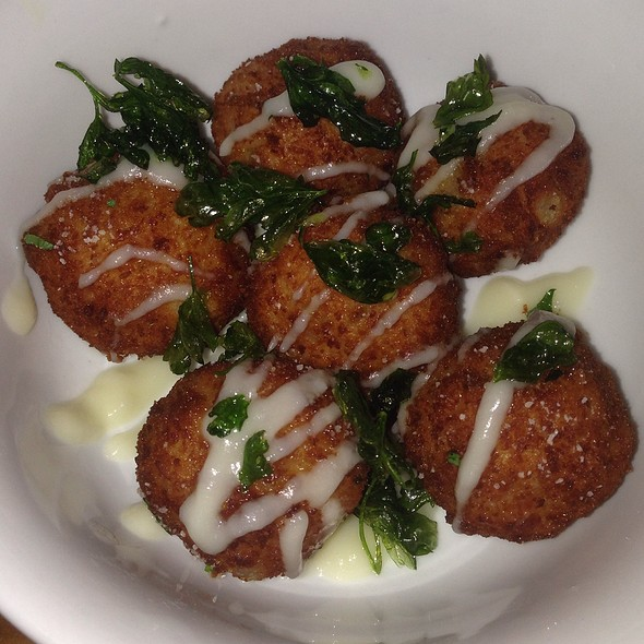 Fried Veal Meatballs - Cucina by Wolfgang Puck, Las Vegas, NV