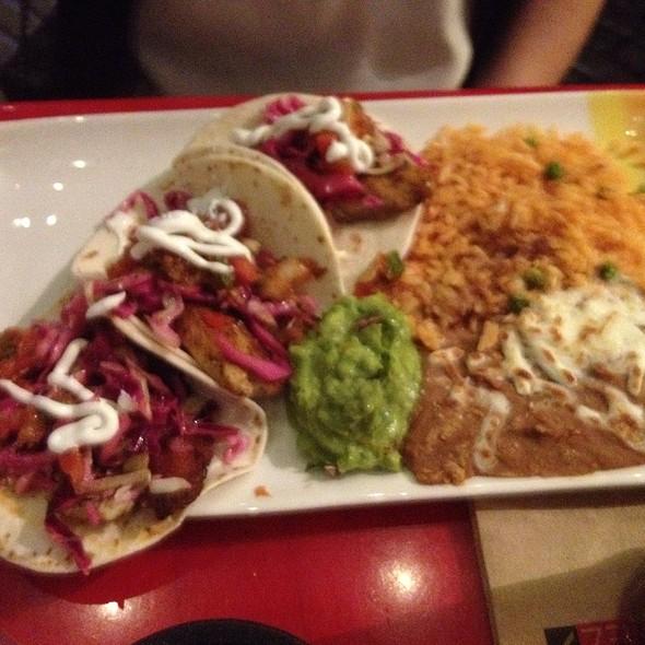 fish tacos - Gonzalez Y Gonzalez - NYNY Hotel, Las Vegas, NV