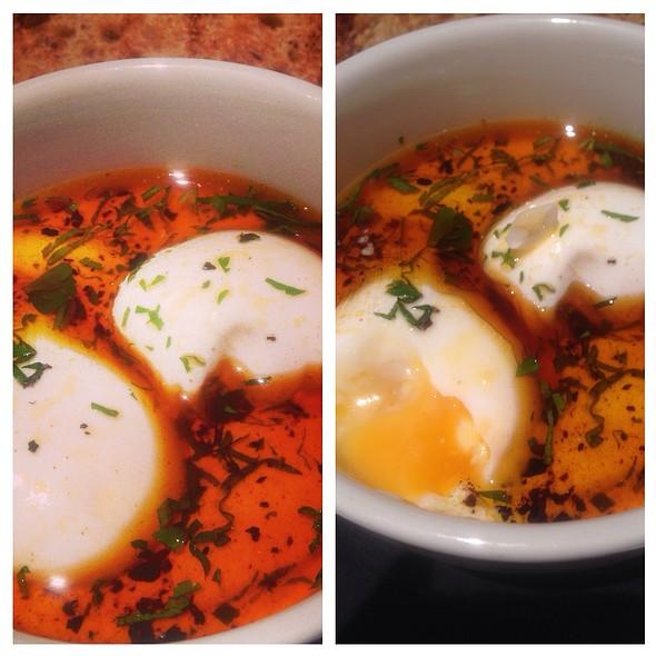 Turkish Eggs - Kopapa, London