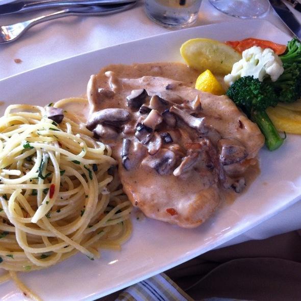 Mushroom Chicken - Vigilucci's Seafood & Steakhouse, Carlsbad, CA