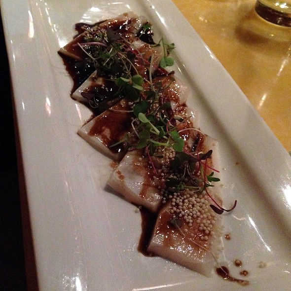 Seared Truffle White Tuna - Asuka Sushi, New York, NY