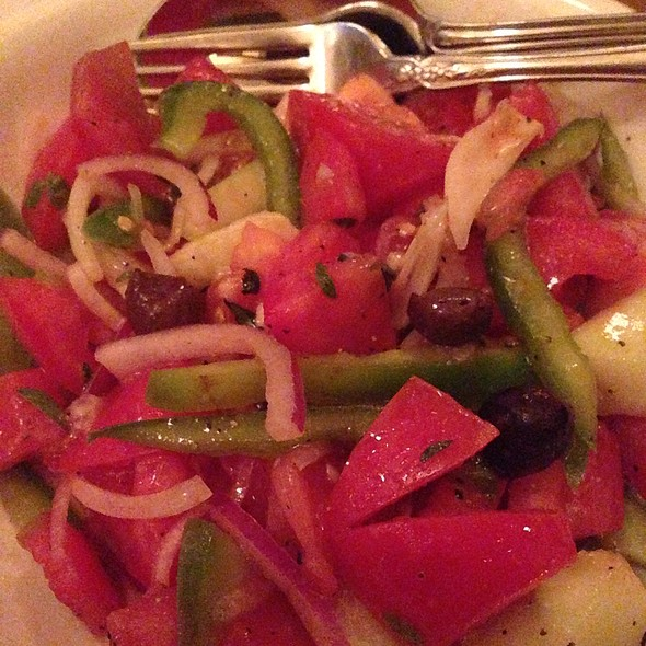 Organic Tomato Salad - Quartino, Chicago, IL