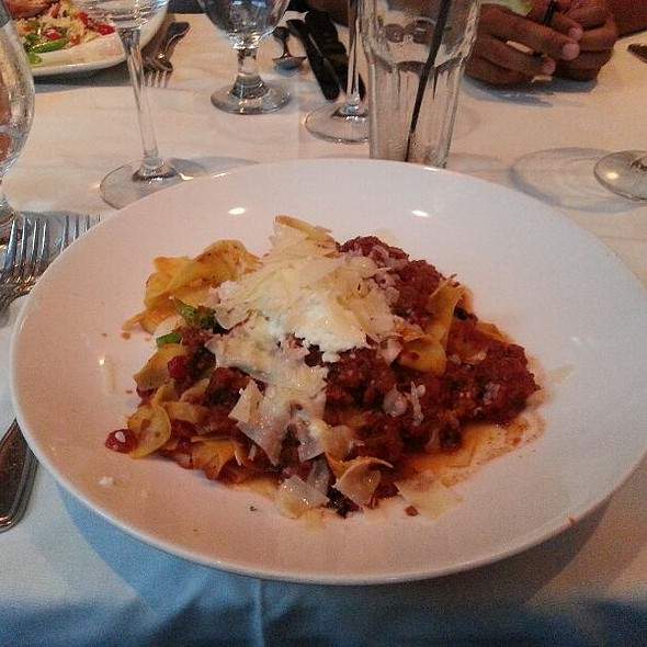 Papardelle Bolognese - Abigail's Grille & Wine Bar, Simsbury, CT