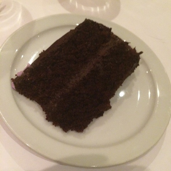Chocolate Fudge Cake - Jason's Restaurant, Greenbrae, CA