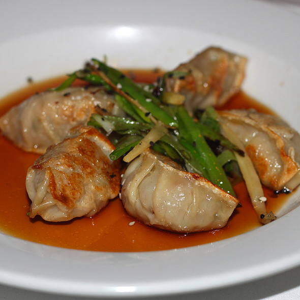 Pot Stickers - Eddie V's – Wildfish – Newport Beach, Newport Beach, CA