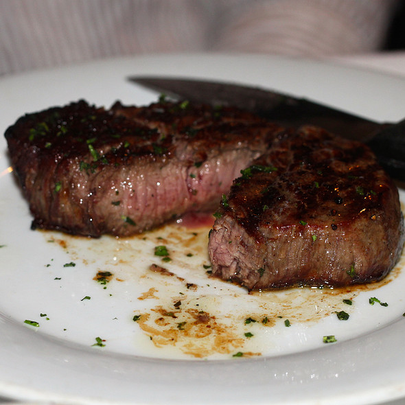 8oz Center Cut Filet Mignon - Eddie V's – Wildfish – Newport Beach, Newport Beach, CA