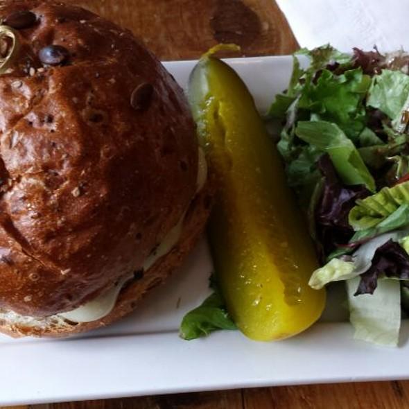 Portabella Mushroom Burger - Pure Bistro, Brooklyn, NY