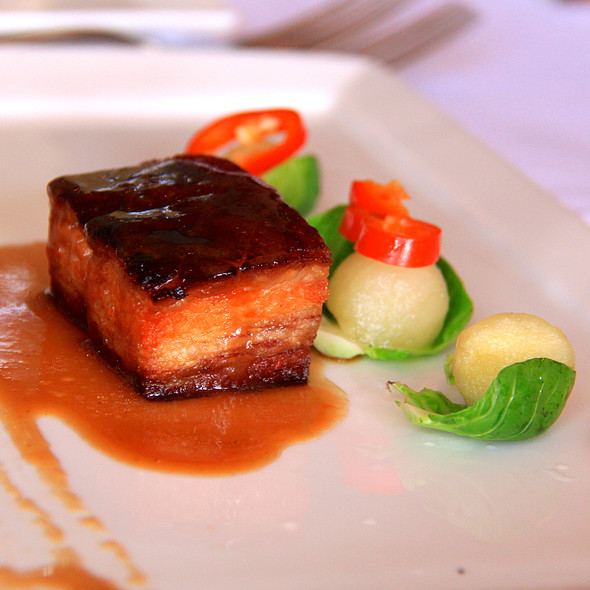 Kurabuta Pork Belly - The Dock, Newport Beach, CA