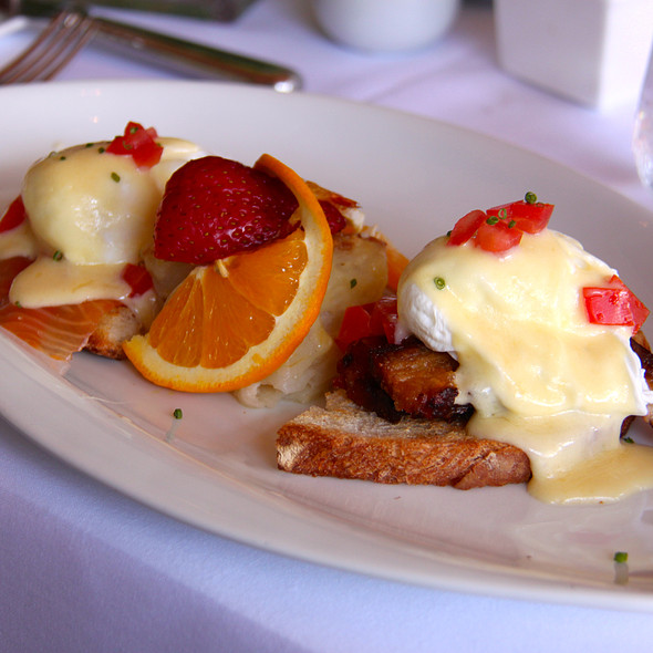 Eggs Benedict - The Dock, Newport Beach, CA