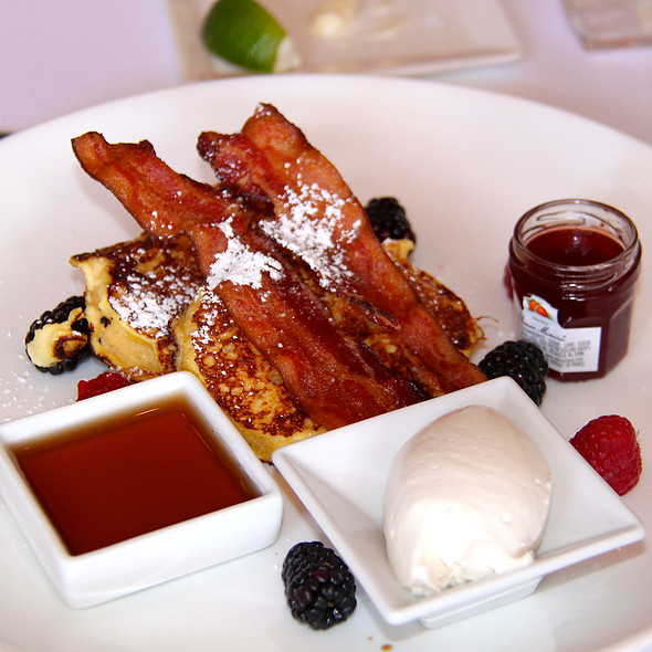brioche french toast - The Dock, Newport Beach, CA