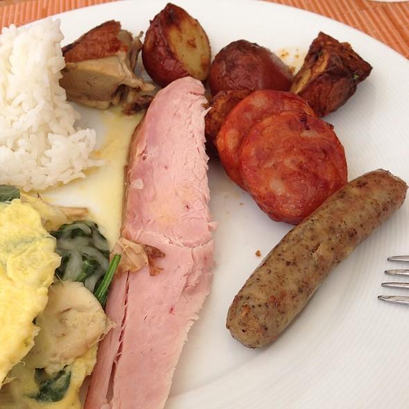Breakfast Meats - Plumeria Beach House, Honolulu, HI