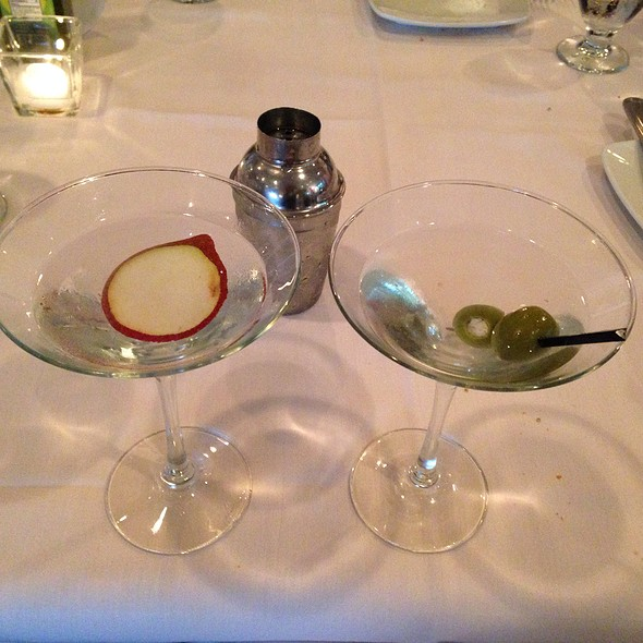 Pear Martini - The Pier House, Cape May, NJ