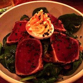 Ahi Tuna Spinach Salad - The Smith - Midtown, New York, NY