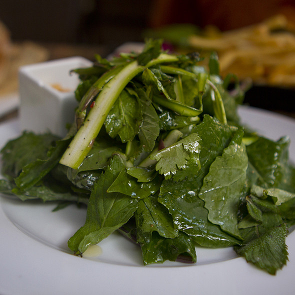 Asparagus and Kale Salad - BOKA Restaurant + Bar, Seattle, WA