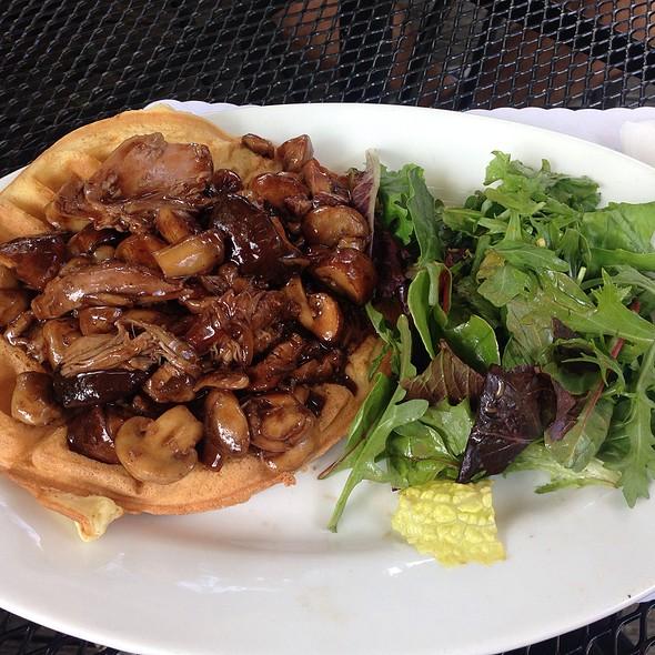 Duck Confit And Wild Mushroom Gafre - Brasserie Max & Julie, Houston, TX