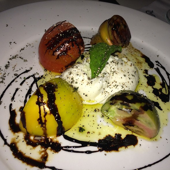 Burrata and Heirloom Tomato Salad - Mastro's Ocean Club - Las Vegas, Las Vegas, NV
