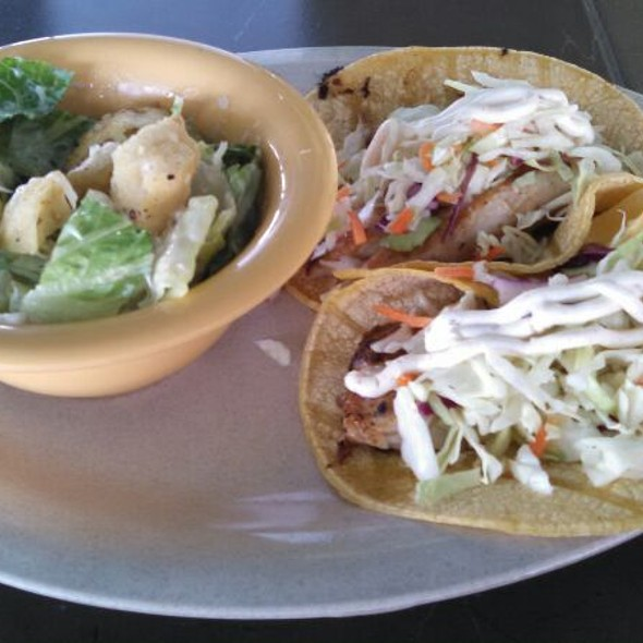 Grilled Fish Tacos - Morgan Creek Grill, Isle Of Palms, SC