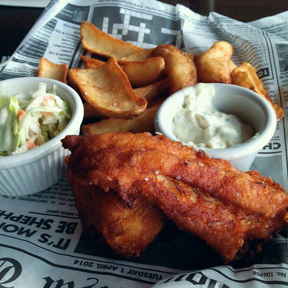 Fish and Chips - Iron Hill Brewery - Maple Shade, Maple Shade, NJ