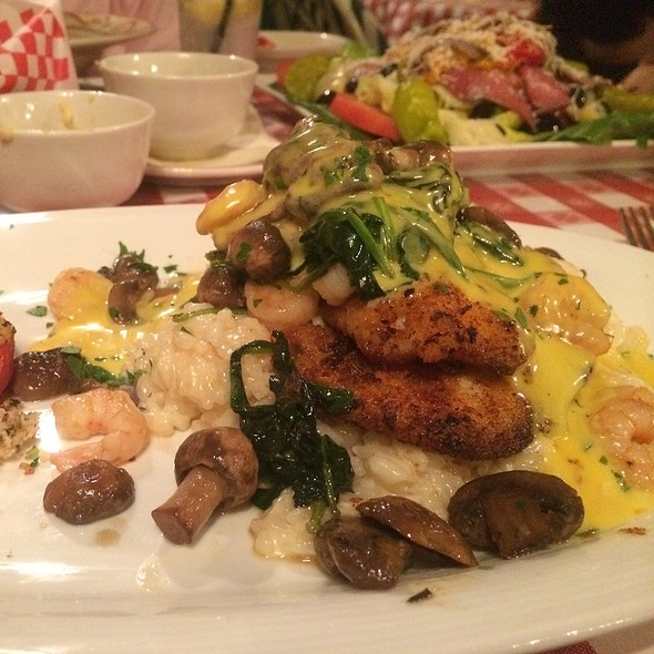 Hog Fish With Blood Orange Beurre Blanc And Prosecco Steamed Rissotto - DiGiorgio's Cafe Largo, Key Largo, FL