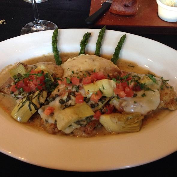 Anne's Chicken Saltimbocca - Cooper's Hawk Winery & Restaurant - Tampa, Tampa, FL