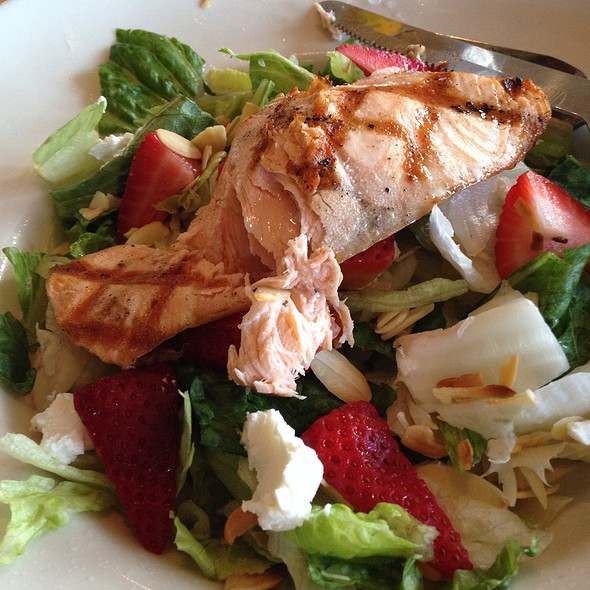 Wild Pacific Salmon Salad - Atria's - PNC Park, Pittsburgh, PA