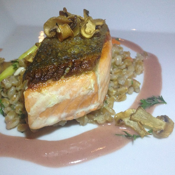 California King Salmon - Leroy's Kitchen + Lounge, Coronado, CA