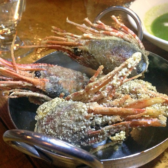 Crispy Fried Spot Prawn Heads - Leroy's Kitchen + Lounge, Coronado, CA