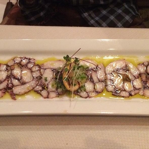 Octopus Carpaccio - Café Central, El Paso, TX