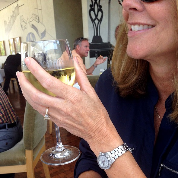 Leticia Chardonnay - Restaurant at the Getty Center, Los Angeles, CA