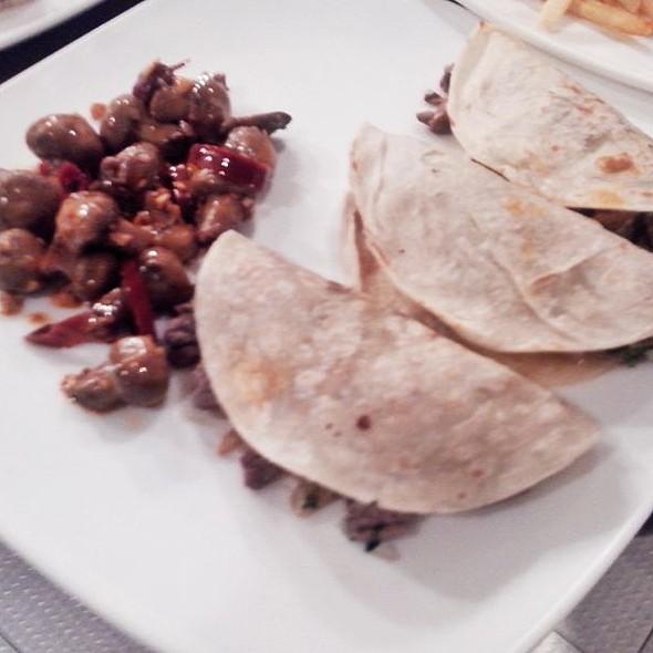 Tacos De Arrachera - Sonora Grill - Coyoacan, México, CDMX