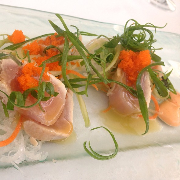 Albacore Tataki - Restaurant at the Getty Center, Los Angeles, CA