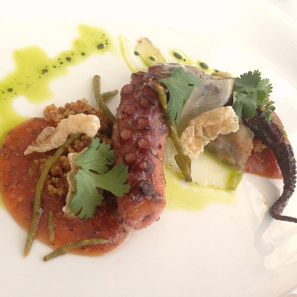 Grilled Octopus - Restaurant at the Getty Center, Los Angeles, CA