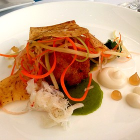 Dungeness Crab Cake - Restaurant at the Getty Center, Los Angeles, CA