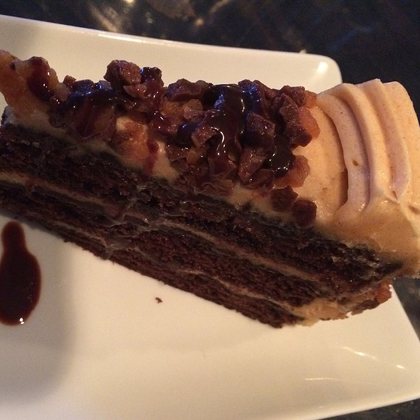 Peanutbutter Cake with Chocolate - Navy Beach, Montauk, NY
