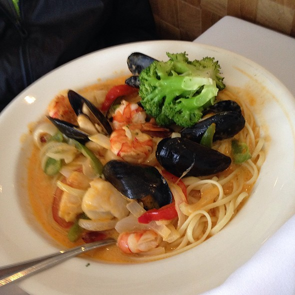 Seafood Pasta - Skylon Tower Revolving Dining Room, Niagara Falls, ON