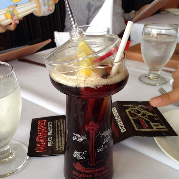 Skylon Iced Tea - Skylon Tower Revolving Dining Room, Niagara Falls, ON