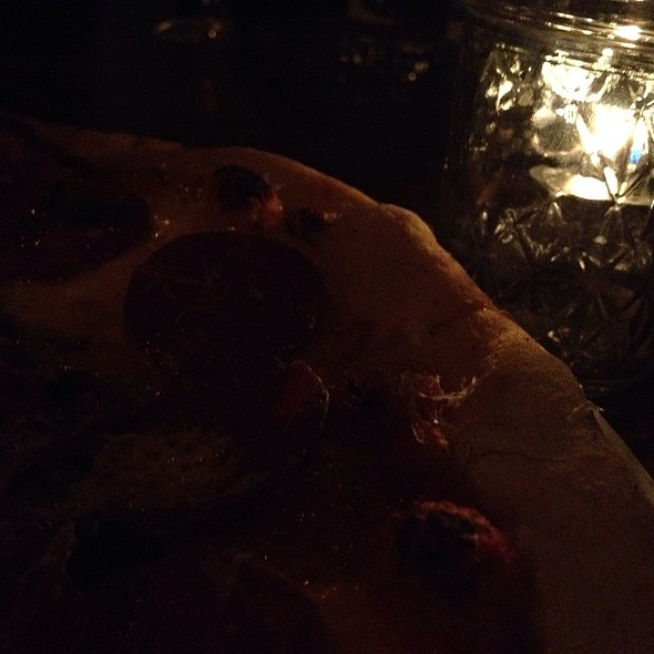 Pepperoni Pizza With Charred Pasilla Peppers - The Churchill, Los Angeles, CA