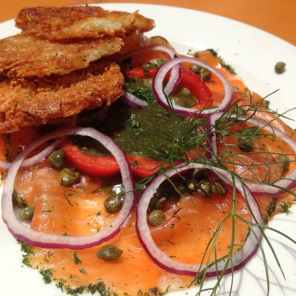 Gravlox And Potato Pancakes - Speisekammer, Alameda, CA