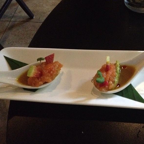 Salmon Crudo - ChoLon Modern Asian, Denver, CO