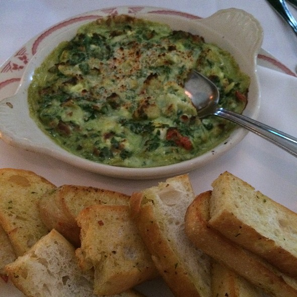 Spinach And Artichoke Dip - Maggiano's - Chicago, Chicago, IL