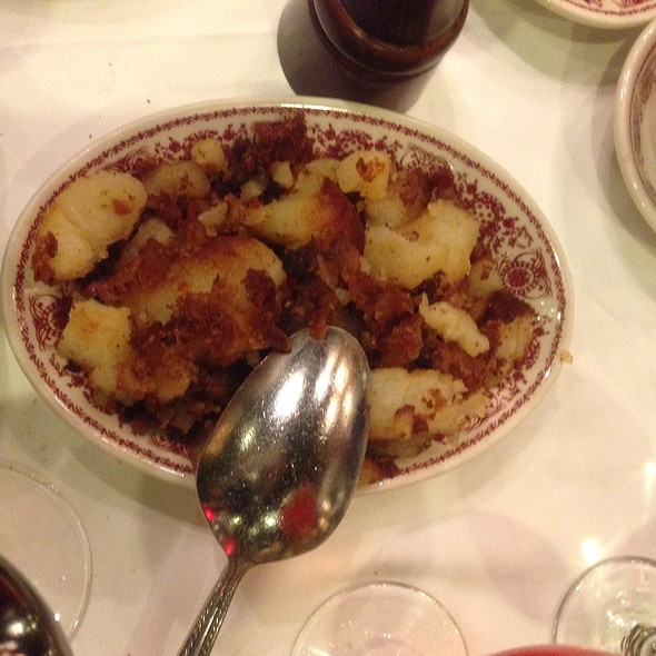 Hash Browns - Sparks Steak House, New York, NY