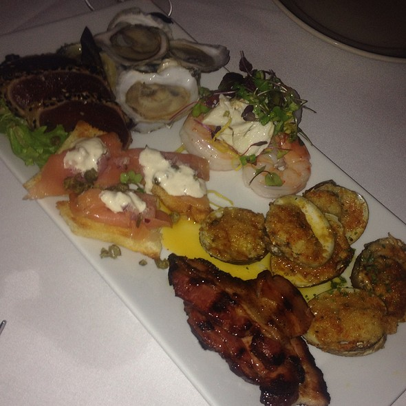 Seafood Sampler - Edward's Steakhouse, Jersey City, NJ