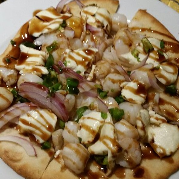 Seafood Flatbread - Isabella's - Frederick, Frederick, MD